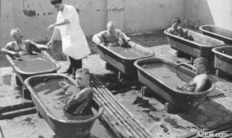 История открытия нафталана